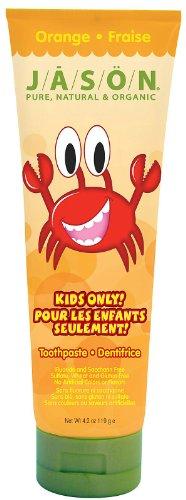 Jason Kids Only! Toothpaste, Orange, 4.2 oz