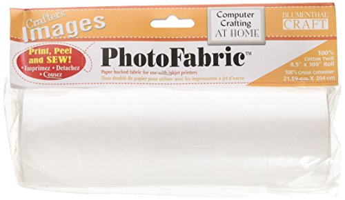 (Blumenthal Lansing Crafter's Images 100-Percent Cotton Twill, 8-1/2-Inch by 100-Inch Roll Photo Fabric)
