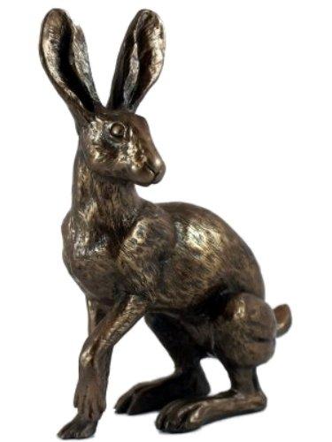 Bronze Hare Sculpture Buttercup Statue Harriet Glen