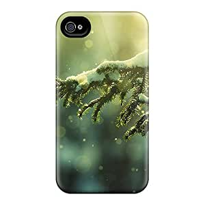 New Mialisabblake Super Strong Snow On Branch Tpu Case Cover For Iphone 4/4s by runtopwell