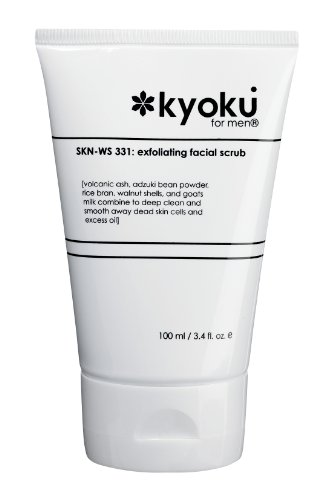 Kyoku For Men Exfoliating Facial Scrub | Kyoku For Men Face Scrub, A Gentle Acne Treatment For Men...