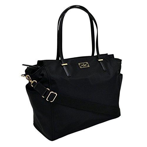 Kate Spade New York Wilson Road Kaylie Baby Diaper Bag (Black)