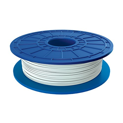 Dremel PLA 3D Printer Filament, 1.75 mm Diameter, 0.5 kg Spool Weight, White by Dremel