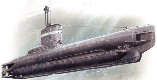 ICM German submarine U- boat 23 type 1/144 S004