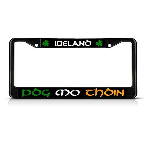 POG MO Thoin KISS My Ass Irish Ireland Metal Black for sale  Delivered anywhere in USA