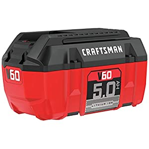 CRAFTSMAN CMCB6050 V60* 5.0Ah Lithium Ion Battery