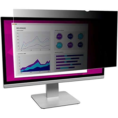 3M HC236W9B High Clarity Privacy Filter for 23.6'' Widescreen Monitor (16:9 Aspect Ratio)