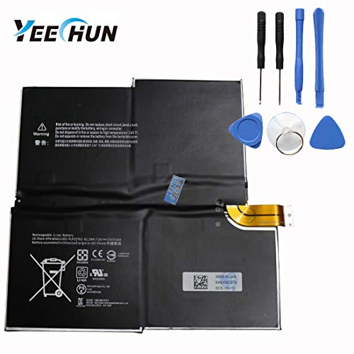 YEECHUN 5547mAh Battery Replacement for Microsoft Surface Pro 3 16311577-9700 Part Number : MS011301-PLP22T02 G3HTA005H G3HTA009H