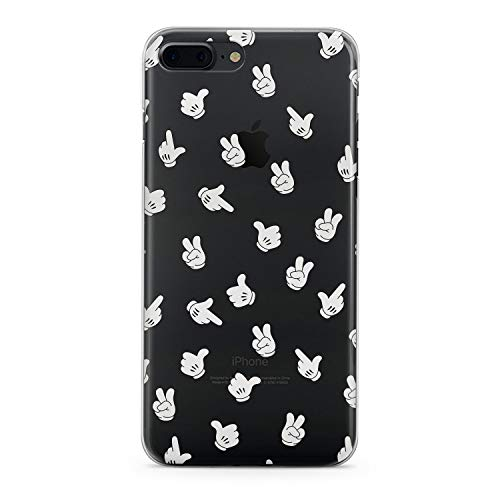 Lex Altern TPU iPhone Cases X 8 Plus 7 6s 6 SE 5s 5 Cute Mickey Mouse Clear Apple Disney Phone Kawaii Cover Xr White Silicone 2018 Xs Max Protective -