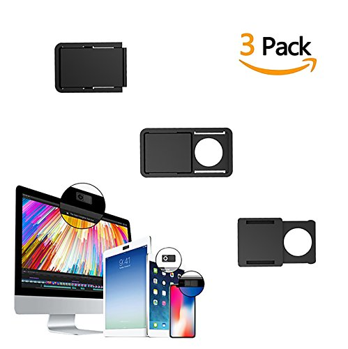 Webcam Cover Slide for Privacy Protection - 2018 Ultra Slim New Design - Perfect Fit For MAC PC Computer Laptop Tablet Cell Phone