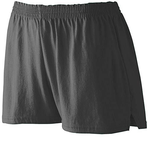 Augusta Heavyweight Jersey - Augusta Sportswear Girls' TRIM FIT JERSEY SHORT M Black