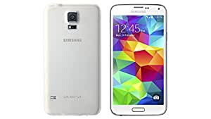 LTE Rated Samsung Galaxy S5 G900 16GB Unlocked GSM CDMA Wireless Smartphone - White - Retail Packaging