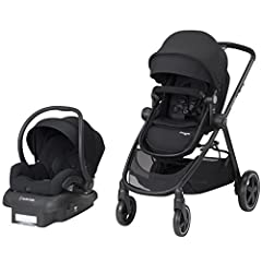 Feel free to go wherever you want, whenever you want with the Zelia 5-in-1 modular travel system. It comes complete with the Maxi-Cosi Mico 30 Infant car seat, stay-in-car base, and easy-to-maneuver Zelia stroller. Whether you have somewhere ...