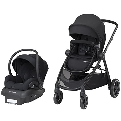 - Maxi-Cosi Zelia 5-In-1 Modular Travel System, Night Black, One Size