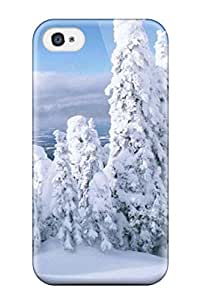 Brooke C. Hayes's Shop Top Quality Case Cover For Iphone 4/4s Case With Nice Holiday Christmas Appearance