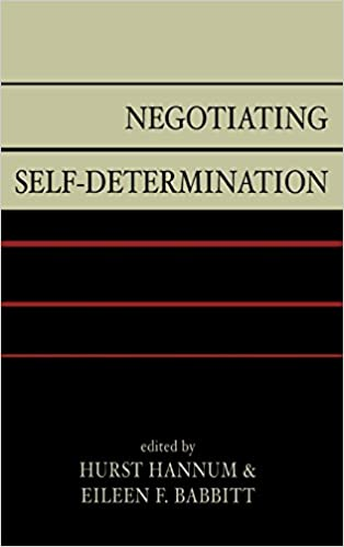 Negotiating Self-Determination