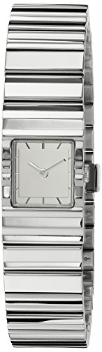 ISSEY MIYAKE Women's 'V' Quartz Stainless Steel Casual Watch (Model: NYAC002Y)
