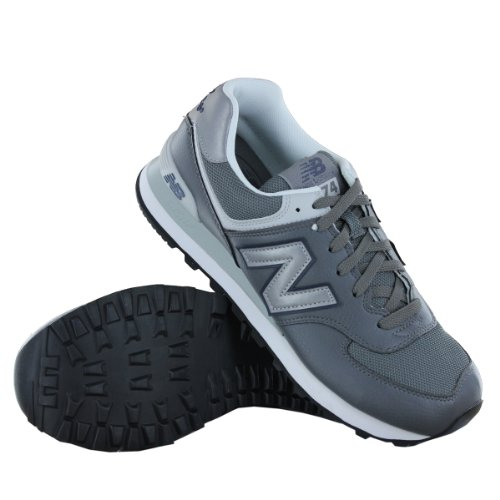 Classic 574 Traditional Mens Size UK Trainers New Balance 7 Grey xBfUUt