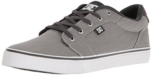 DC Men's Anvil TX SE Skateboarding Shoe, Armor/Battleship, 9.5 D US