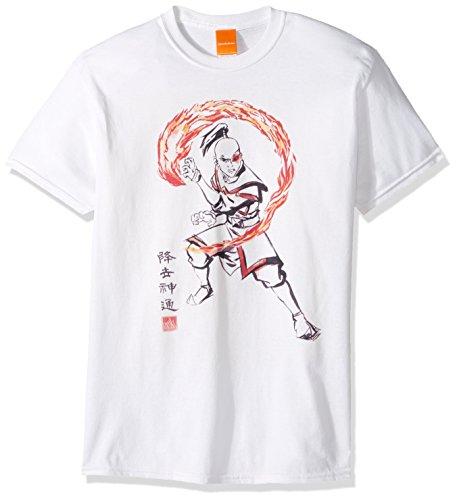 Nickelodeon Mens Zuko T-Shirt,
