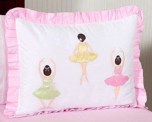 Sweet Jojo Designs 4-Piece Ballet Dancer Ballerina Children's Girls Twin Bedding Set