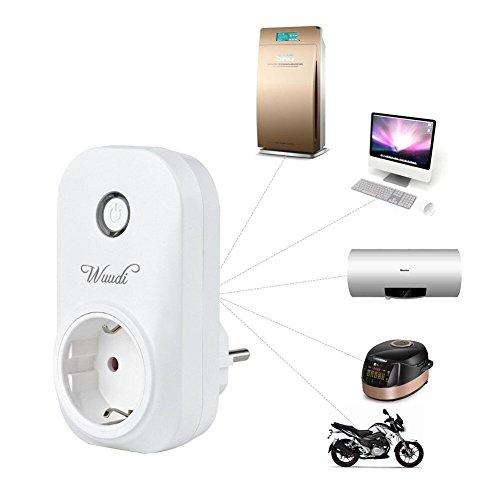 Enchufe Inteligente Inalámbrico,Wuddi (Funciona con la Aplicación para Android y IOS ,Control Inalambtrico),COLOR BLANCO: Amazon.es: Bricolaje y ...