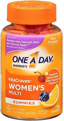 One a day Womens vitacraves multivitamin Gummies, 80 Count
