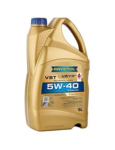 RAVENOL J1A1550 VST 5W-40 Fully Synthetic Motor Oil (5 Liter)