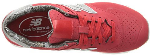 Luxe WL574 Women's Sneaker Red Chinese Rep Balance New Red Chinese OqEnxfvtW5