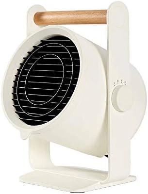 JJSFJH スペースヒーターファン、ファン&AutoOscillation、屋内パーソナル暖房扇風機、オフィスのベッドルームのための静かなポータブルヒーターで900Wの電気セラミックヒーター