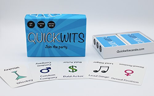 Review Quickwits Party Card Game