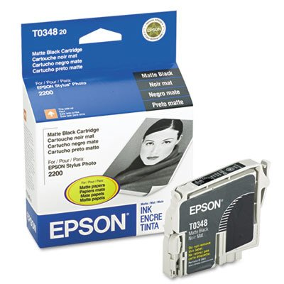 Epson Stylus Photo 2200 Matte Black Ink 440 Yield Highest Quality Available Professional ()