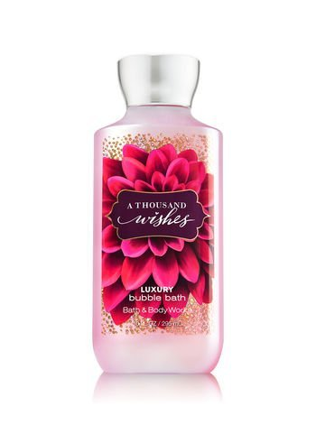 Wish Bubble Bath (Bath & Body Works Luxury Bubble Bath, A Thousand Wishes, 10 FL OZ)