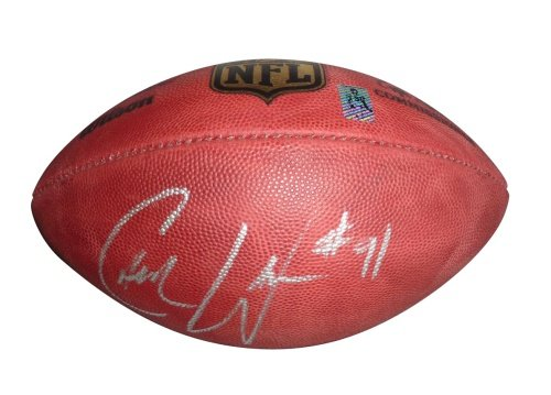 Cameron Wake Autographed Official NFL Game Football - Wake Holo Autographed Official Nfl Game Football