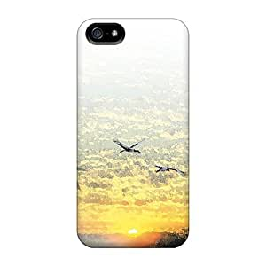 For DrunkLove Iphone Protective Case, High Quality For Iphone 5/5s Oriental Sunrise Skin Case Cover