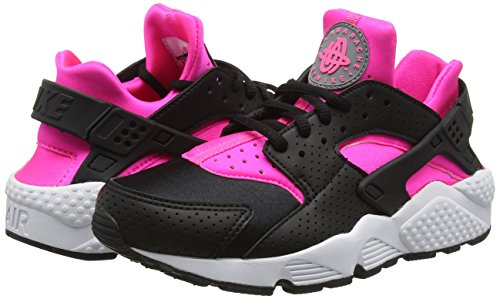 Nike Mujer Negro Wmns Pink Run Air Huarache Zapatillas Para De Blast Deporte white black 88rqFwP
