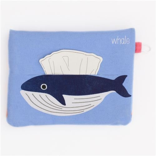 blue whale tissue case dispenser