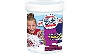 Be Amazing! Toys Amazing Super Snow Jar, Makes 2 gallon