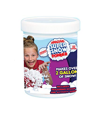 Be Amazing! Toys Amazing Super Snow Jar, Makes 2 gallon
