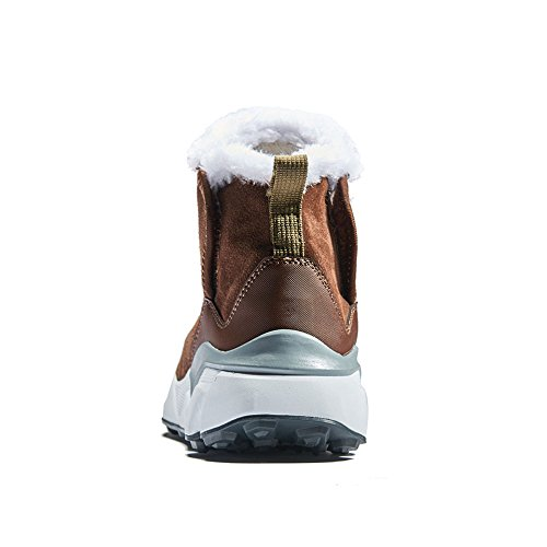 Product image of RAX Men's Outdoor Anti-Slip Waterproof Snow Boot with Fur Lined Winter Warm Shoes