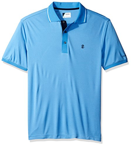 Oxford Pique Shirt Golf - IZOD Men's Oxford Golf Solid Short Sleeve Polo, Marina, X-Large