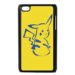 Pokemon Popular Cute Eevee Pikachu Hard Snap Phone Case Cover for Ipod Touch 4 case TSL211501