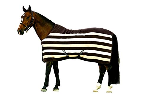 (Horseware Rambo Deluxe Fleece 81 Brown Stripe)