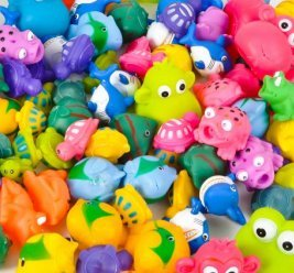 Squirt Toy Assortment 50 pc