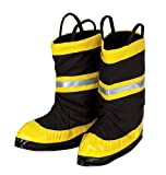 Get Real Gear Fire Chief Boots, Size Small