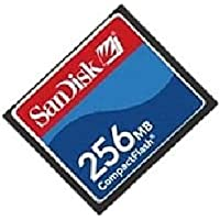 Sandisk 256MB SDCFB-256 or SDCFJ-256 CF Compact Flash Card (BJO) [Electronics]