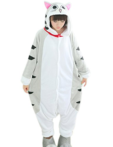 OXKING Animal Cosplay Costume Lemur Unisex Adult Pajamas Doraemon M -