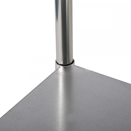Commercial Kitchen Restaurant Stainless Steel Work Table, 24 X 48 Inchs by FDW (Image #4)
