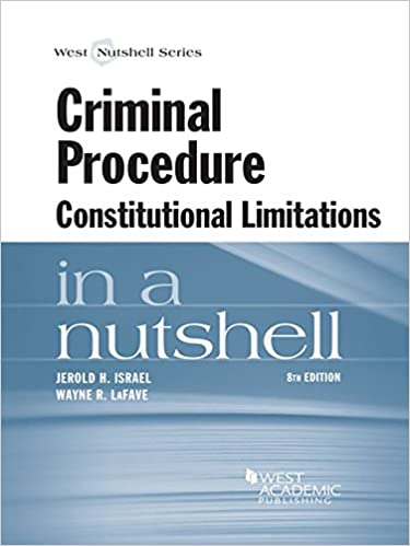 Criminal procedure constitutional limitations in a nutshell 8th criminal procedure constitutional limitations in a nutshell 8th 8th edition kindle edition fandeluxe Gallery