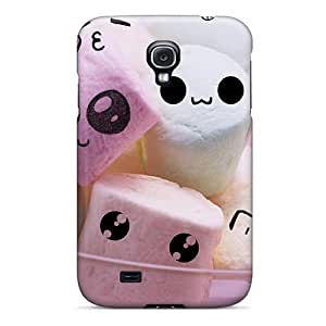 Top Quality Case Cover For Galaxy S4 Case With Nice Cute Pink White Faces Appearance